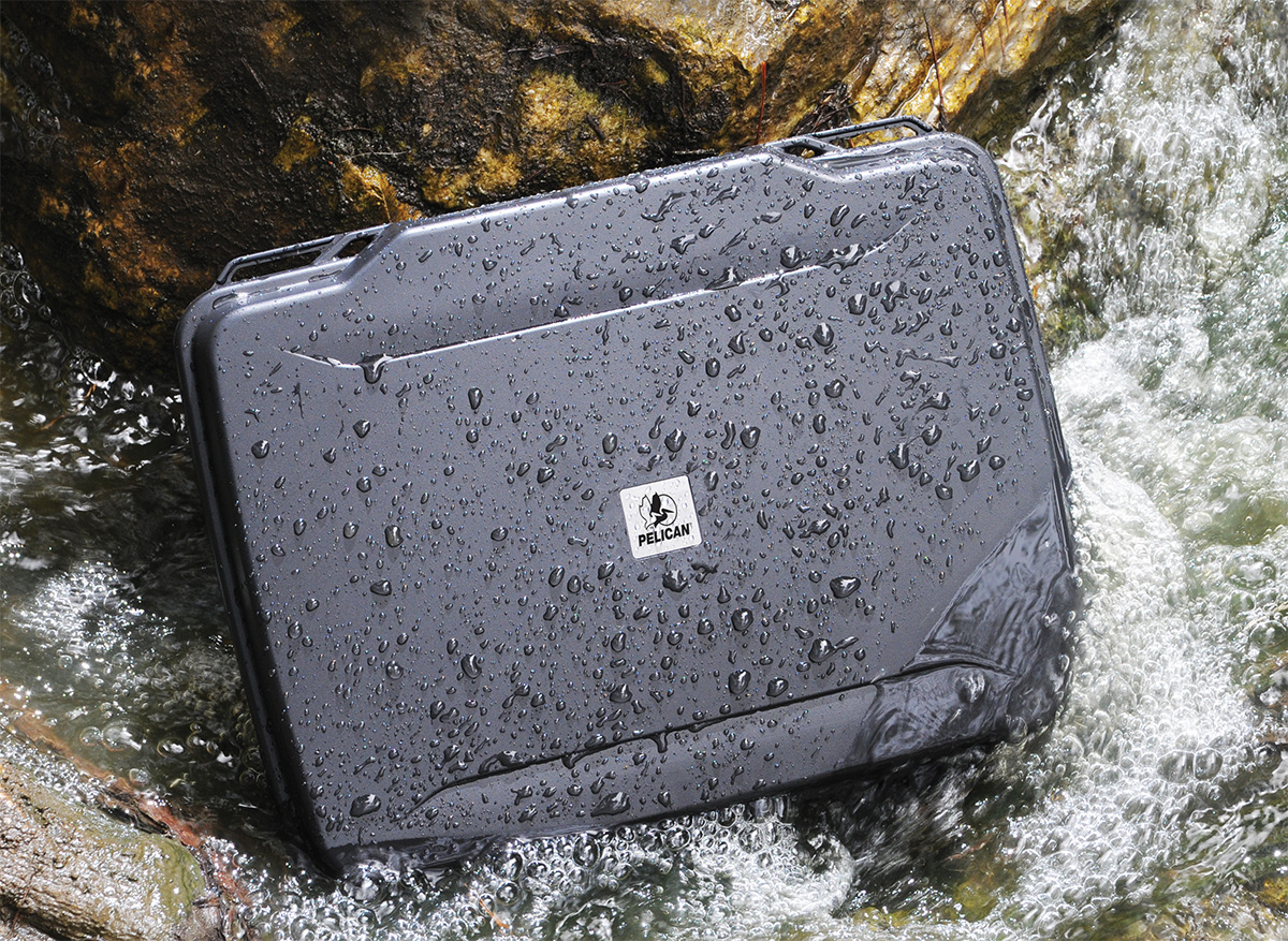 pelican peli products 1095 waterproof laptop pistol hard case