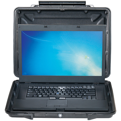 pelican watertight laptop protection case