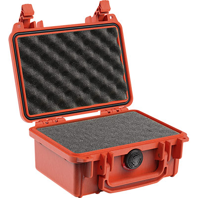 pelican 1120 orange foam gun case