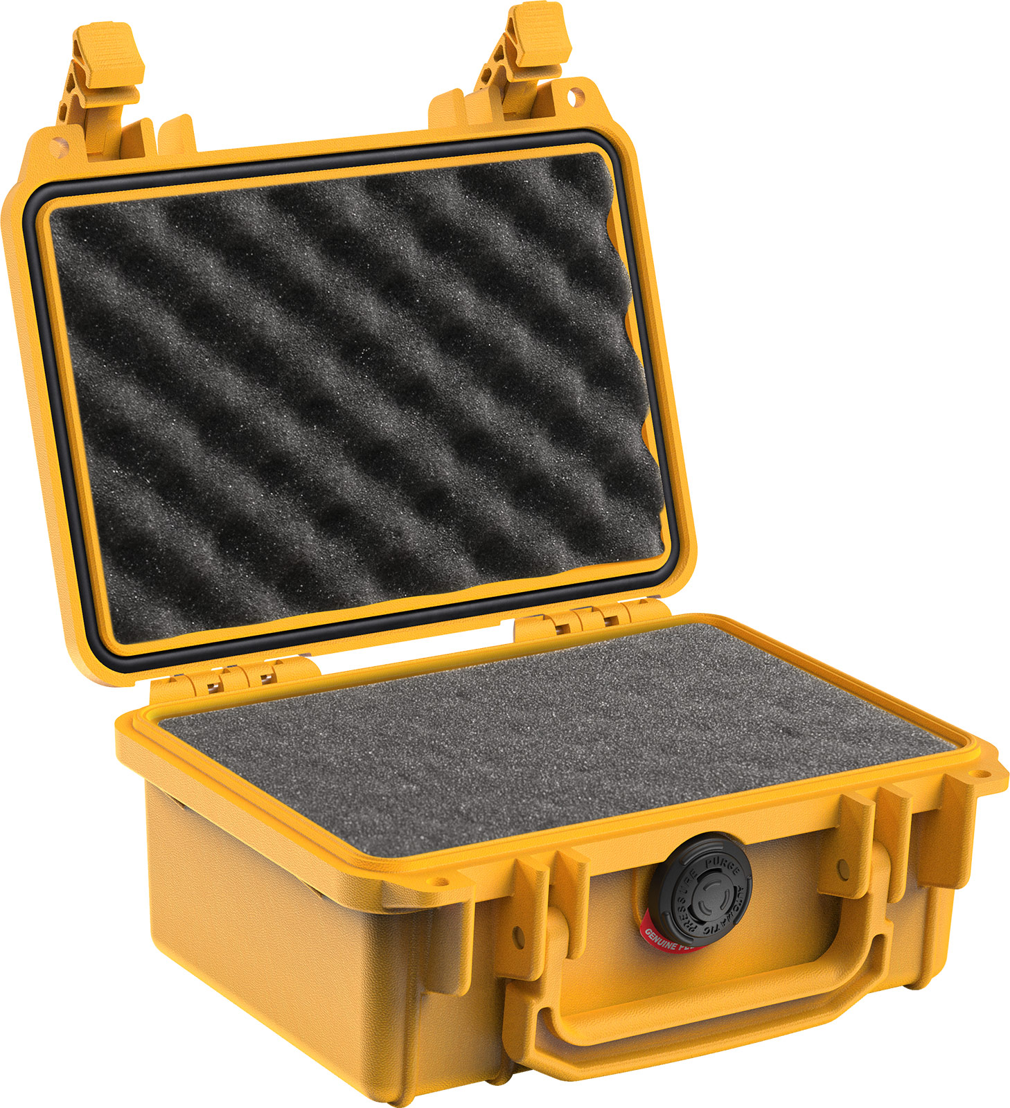 pelican 1120 yellow foam gopro case