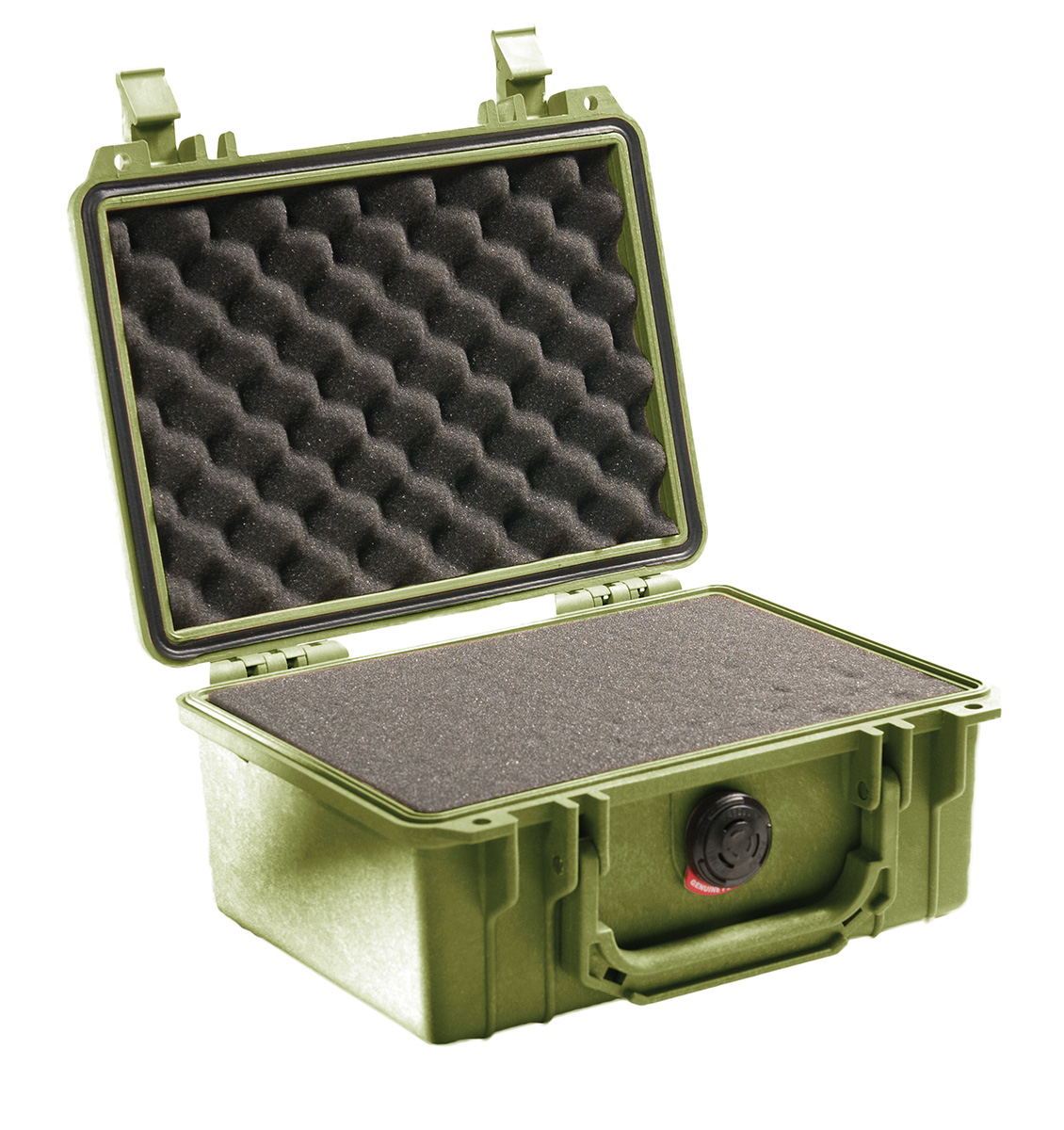 pelican 1150 green foam survivor case