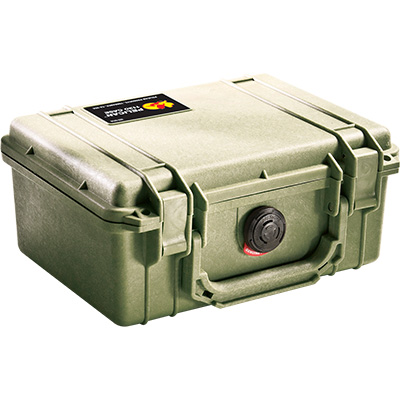 pelican 1150 green outdoor rugged case