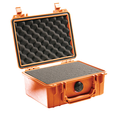 pelican 1150 orange foam dustproof case