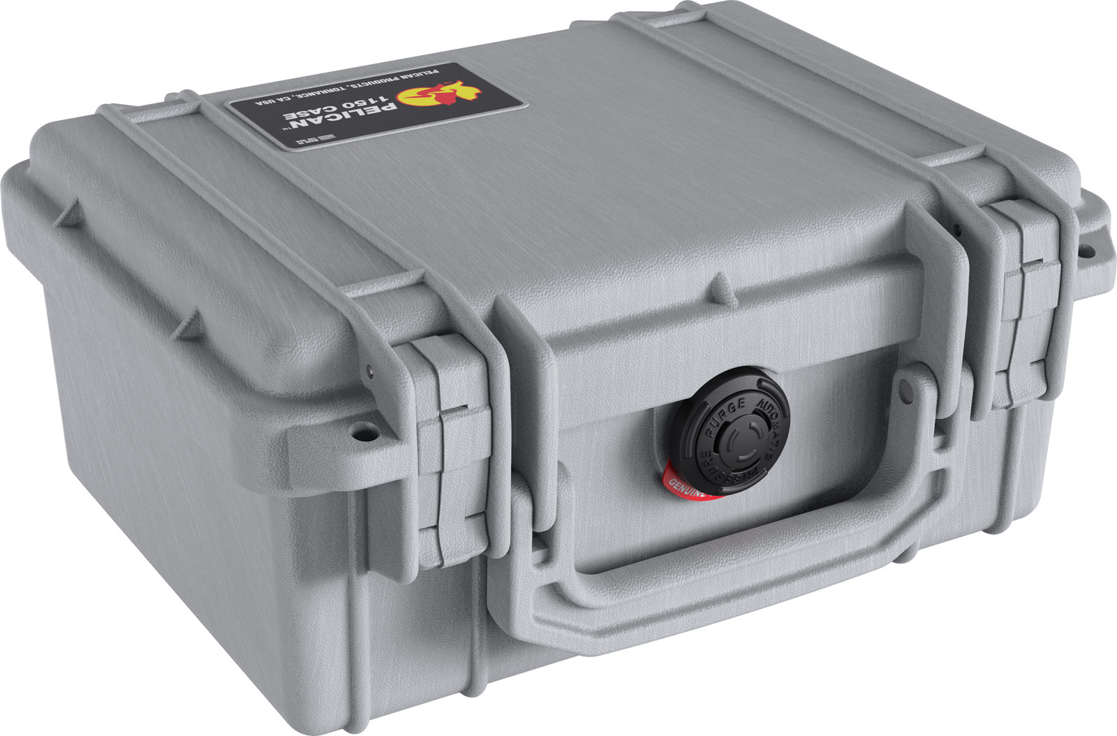 pelican 1150 silver waterproof hard case