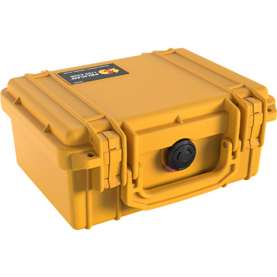 pelican 1150 yellow pistol case