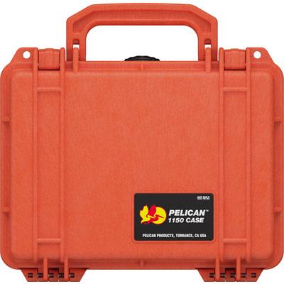 pelican protector 1150 orange hard case