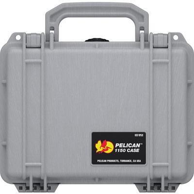 pelican protector 1150 silver hard case