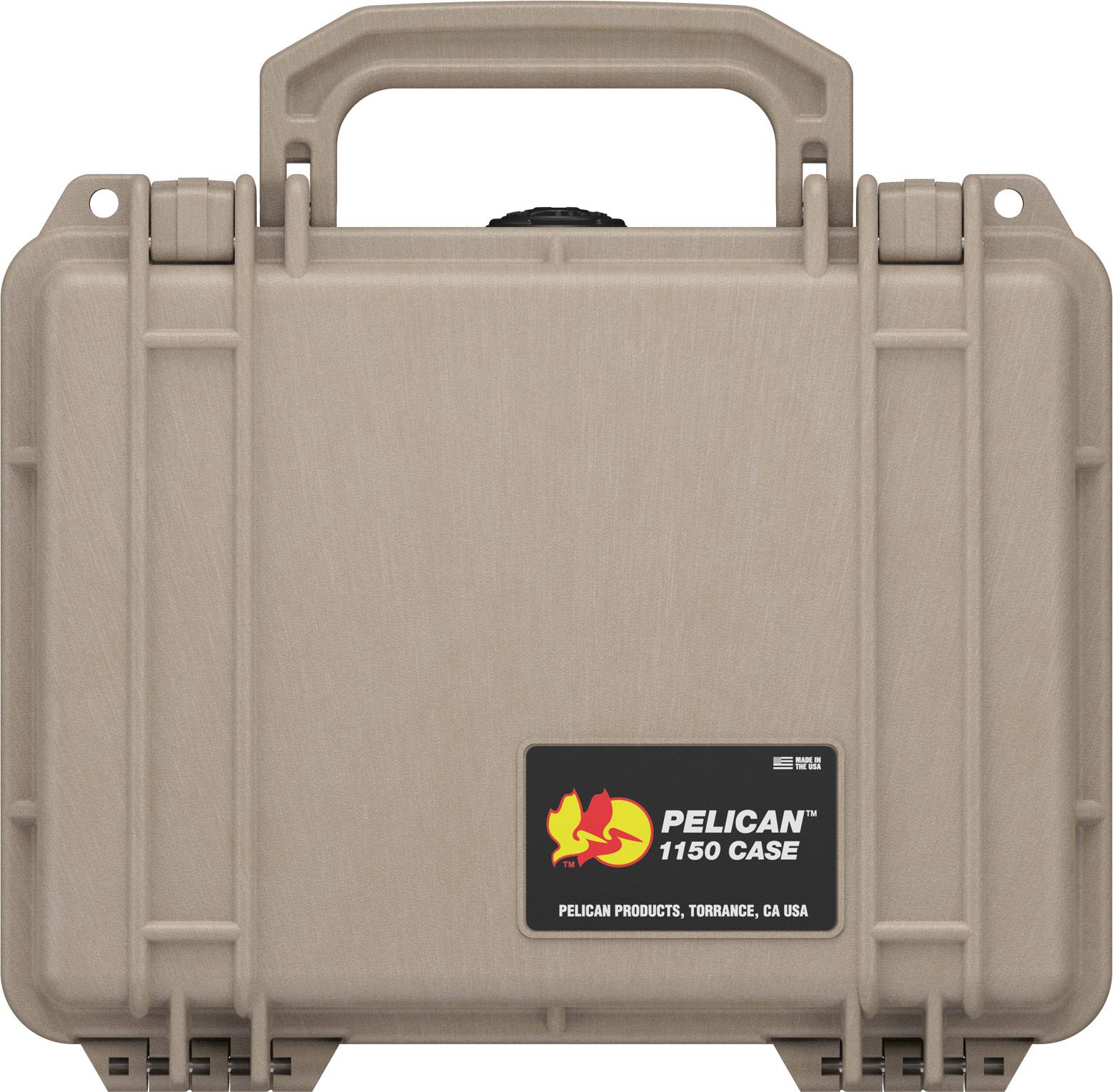 pelican protector 1150 tan hard case