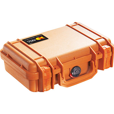 peli 1170 orange camera case