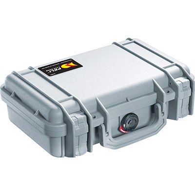 peli 1170 small silver hard case