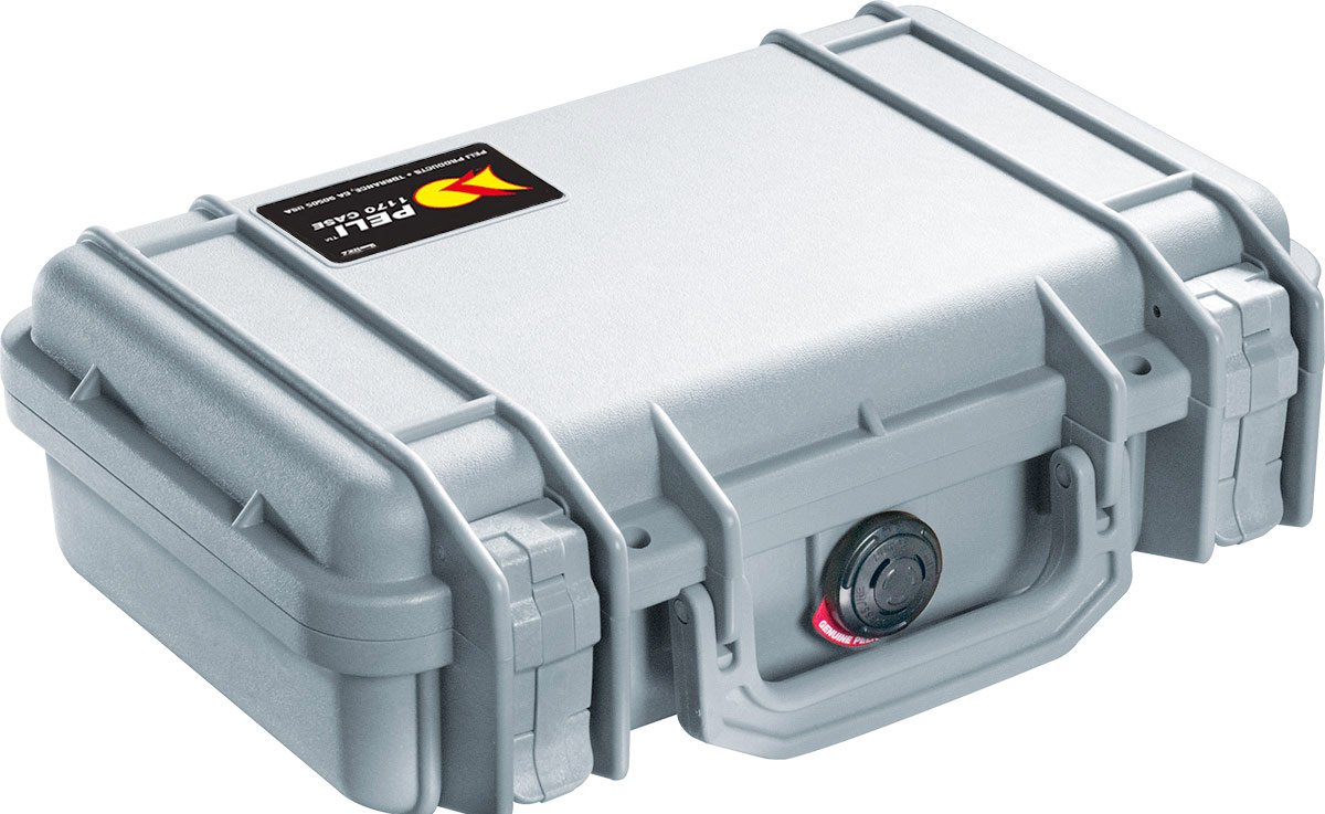 peli 1170 silver hard case