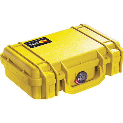 peli 1170 yellow small electronics case