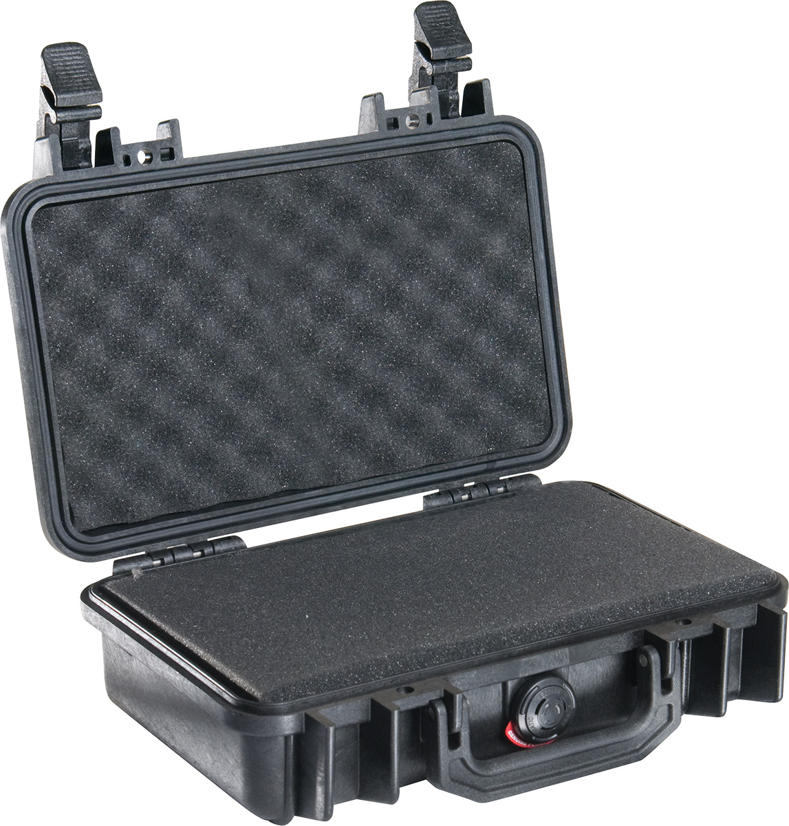 pelican 1170 black foam hard case