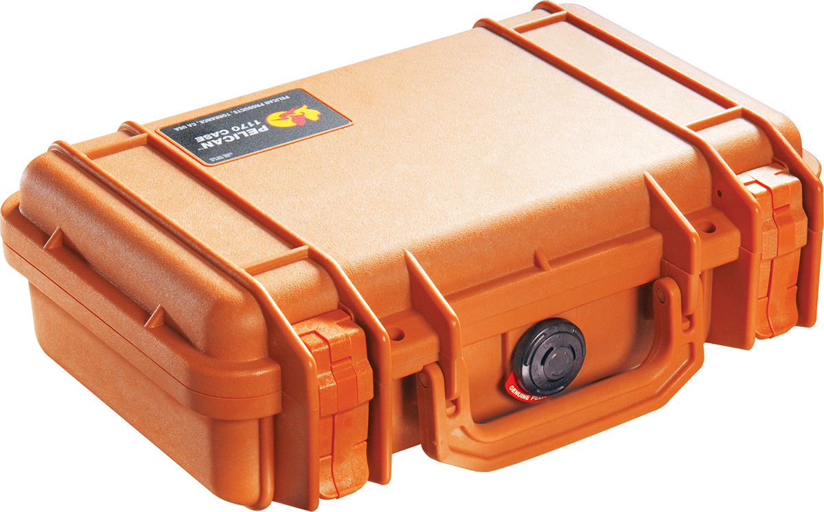 pelican 1170 orange glock case