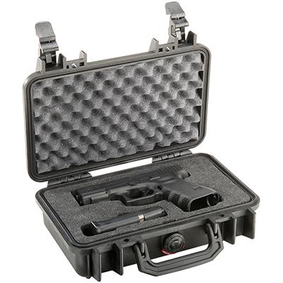 pelican 1170 pistol gun glock hard case