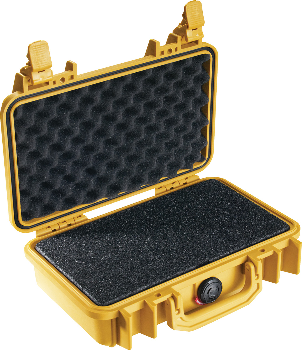pelican 1170 yellow foam weapon case