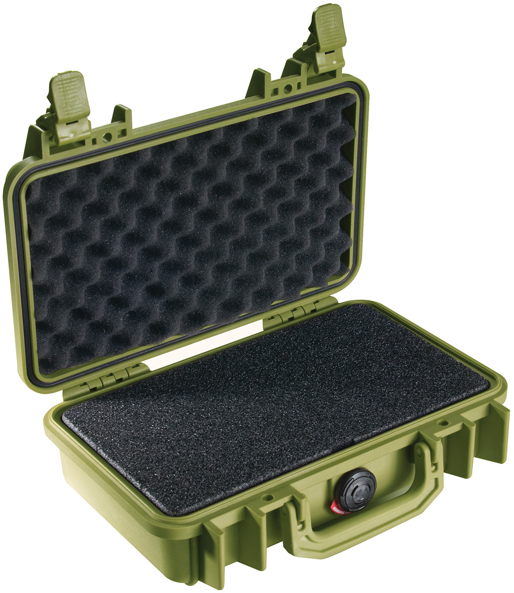 pelican 1170 watertight hunting gun pistol case