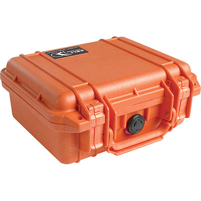 peli 1200 orange rugged case