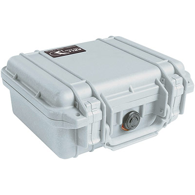 peli gray camera nikon watertight case