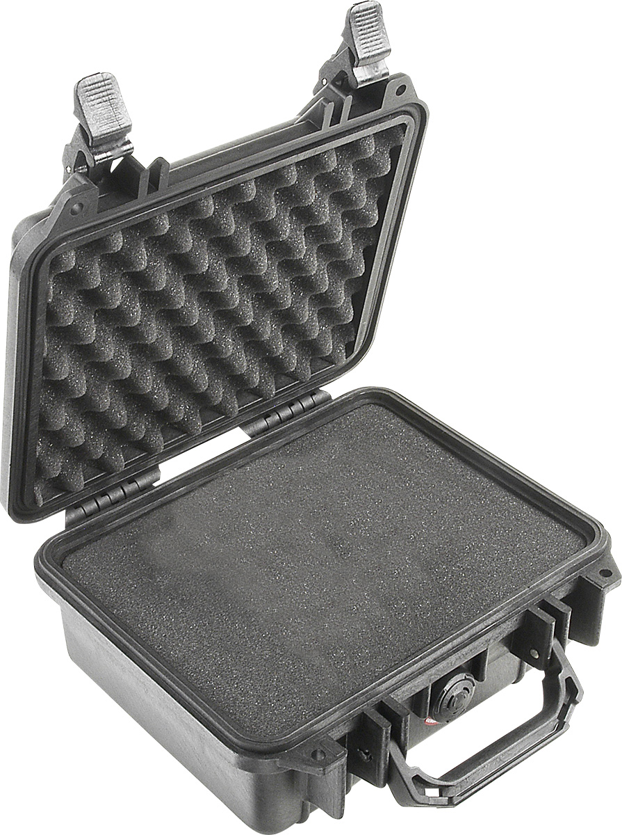 pelican 1200 black crushproof case