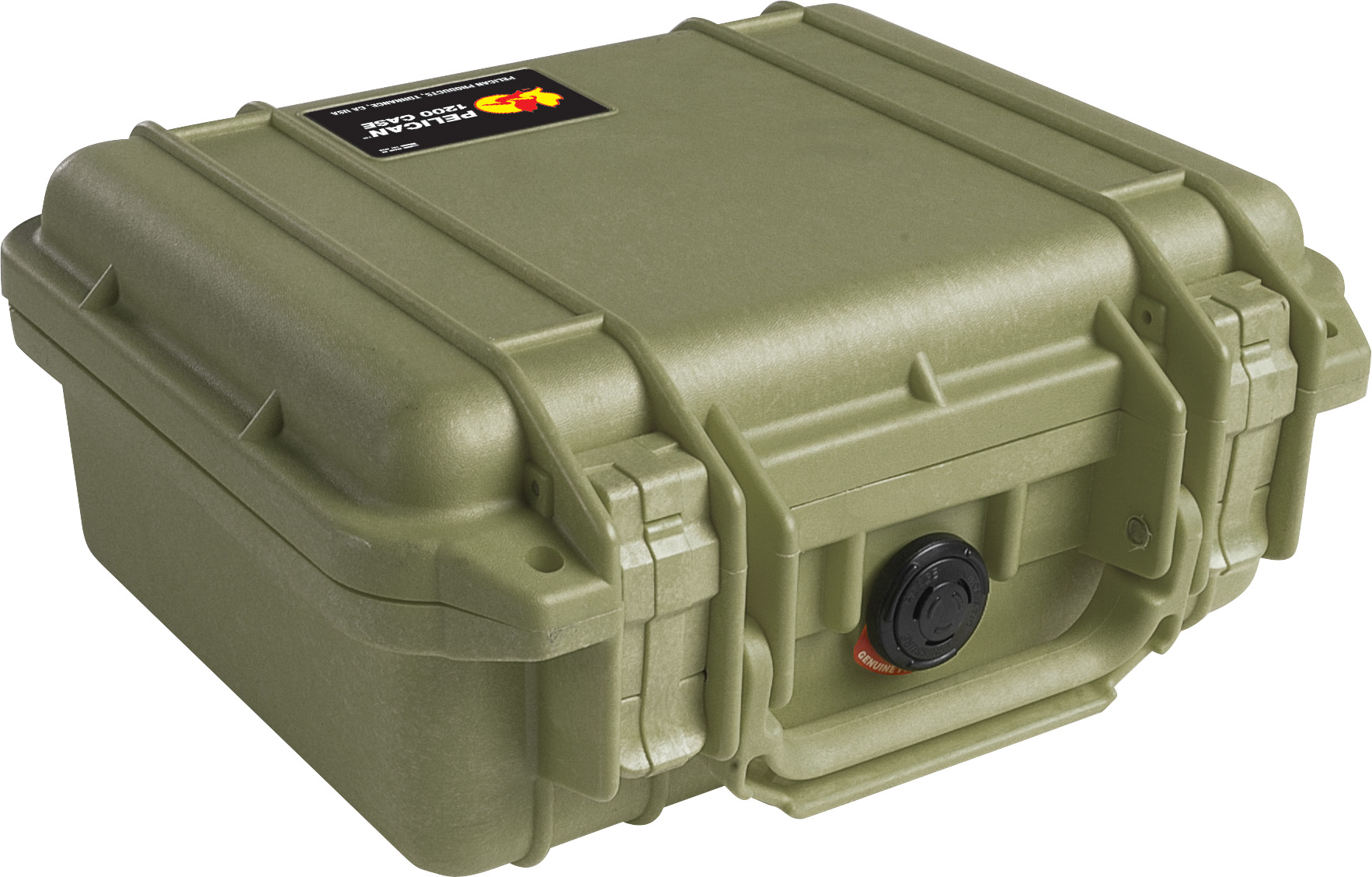 pelican 1200 green survivor case