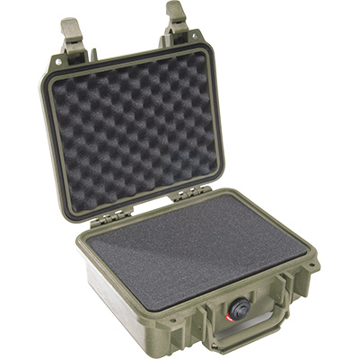 pelican 1200 od green case