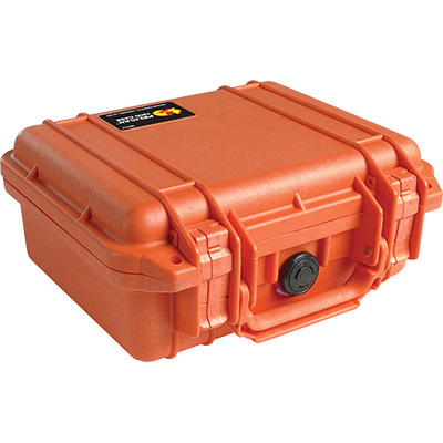 pelican 1200 orange rugged case