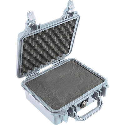 pelican 1200 rugged silver case