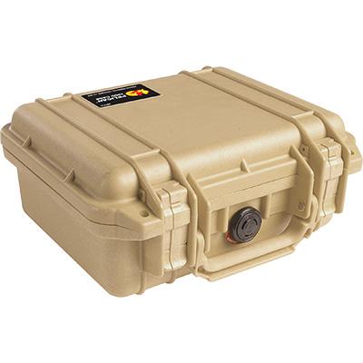 pelican 1200 tan protection case