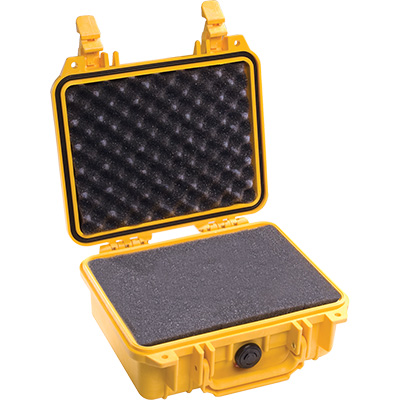 pelican 1200 yellow camera case