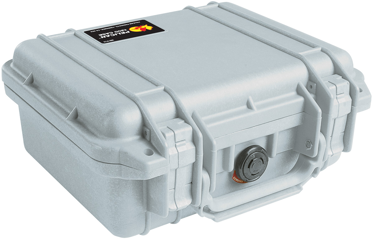 pelican 1200 gray camera nikon watertight case
