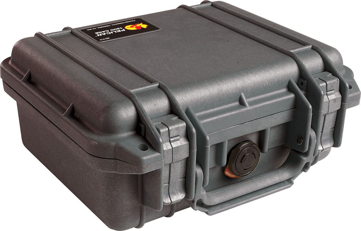 pelican peli products 1200 hard camera canon dustproof case