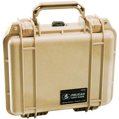pelican 1200 hard camera canon waterproof case