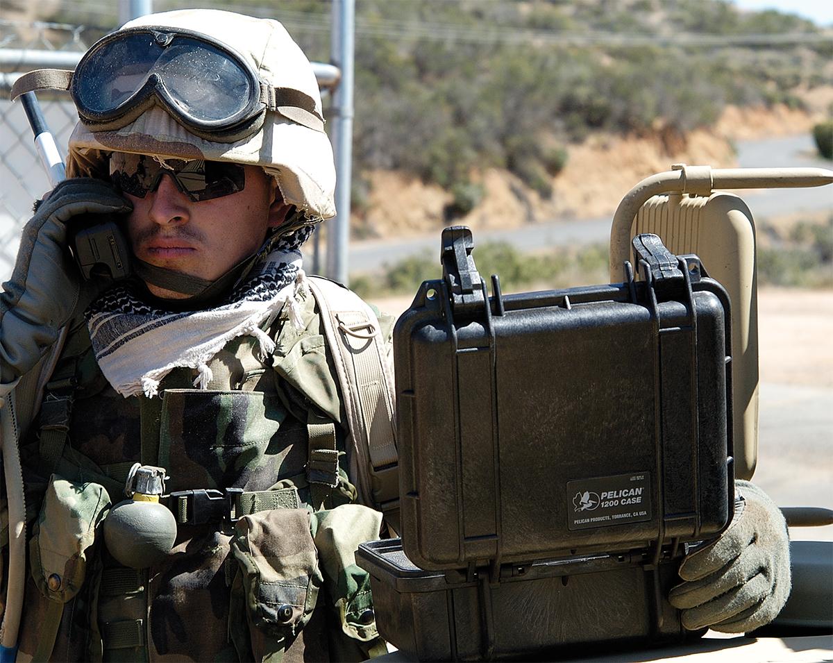 pelican peli products 1200 hard military weapon gun case