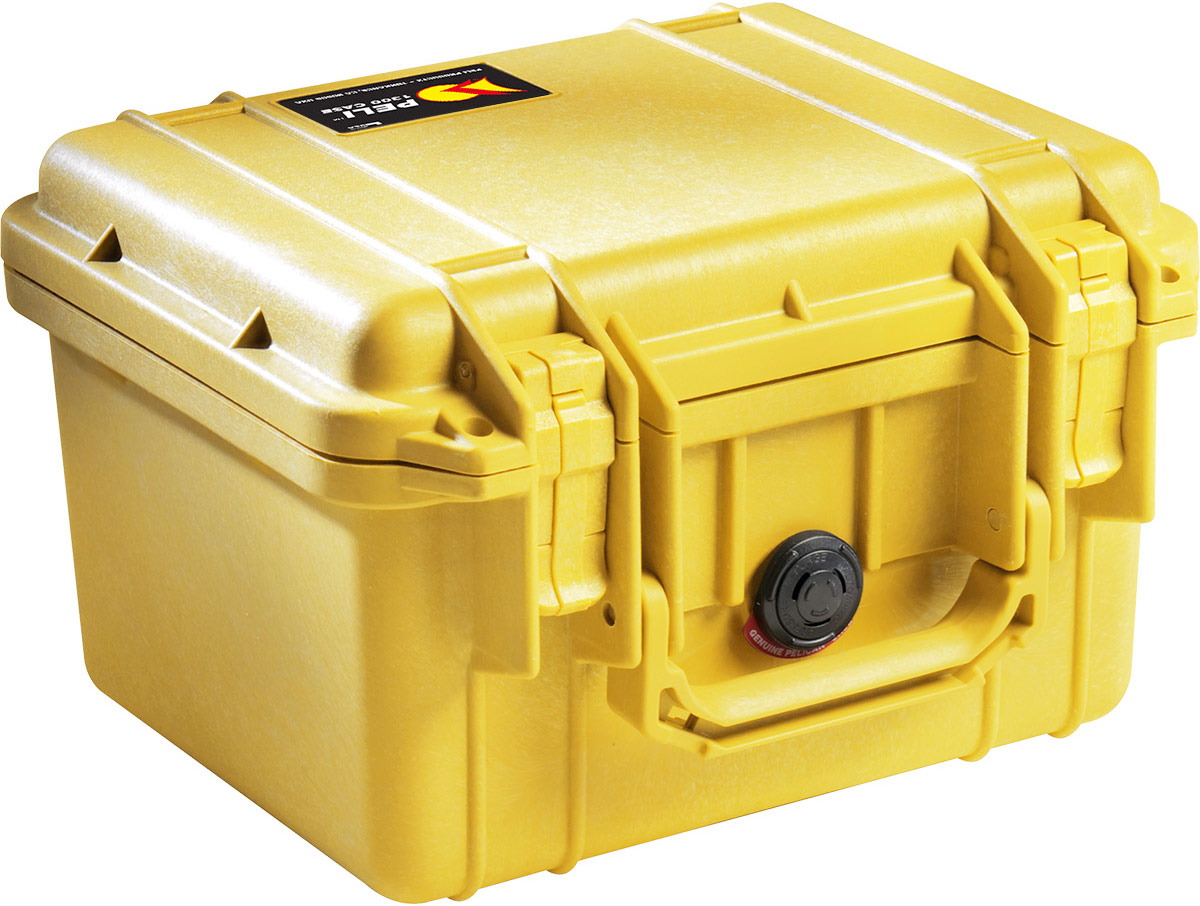 peli 1300 yellow protector case