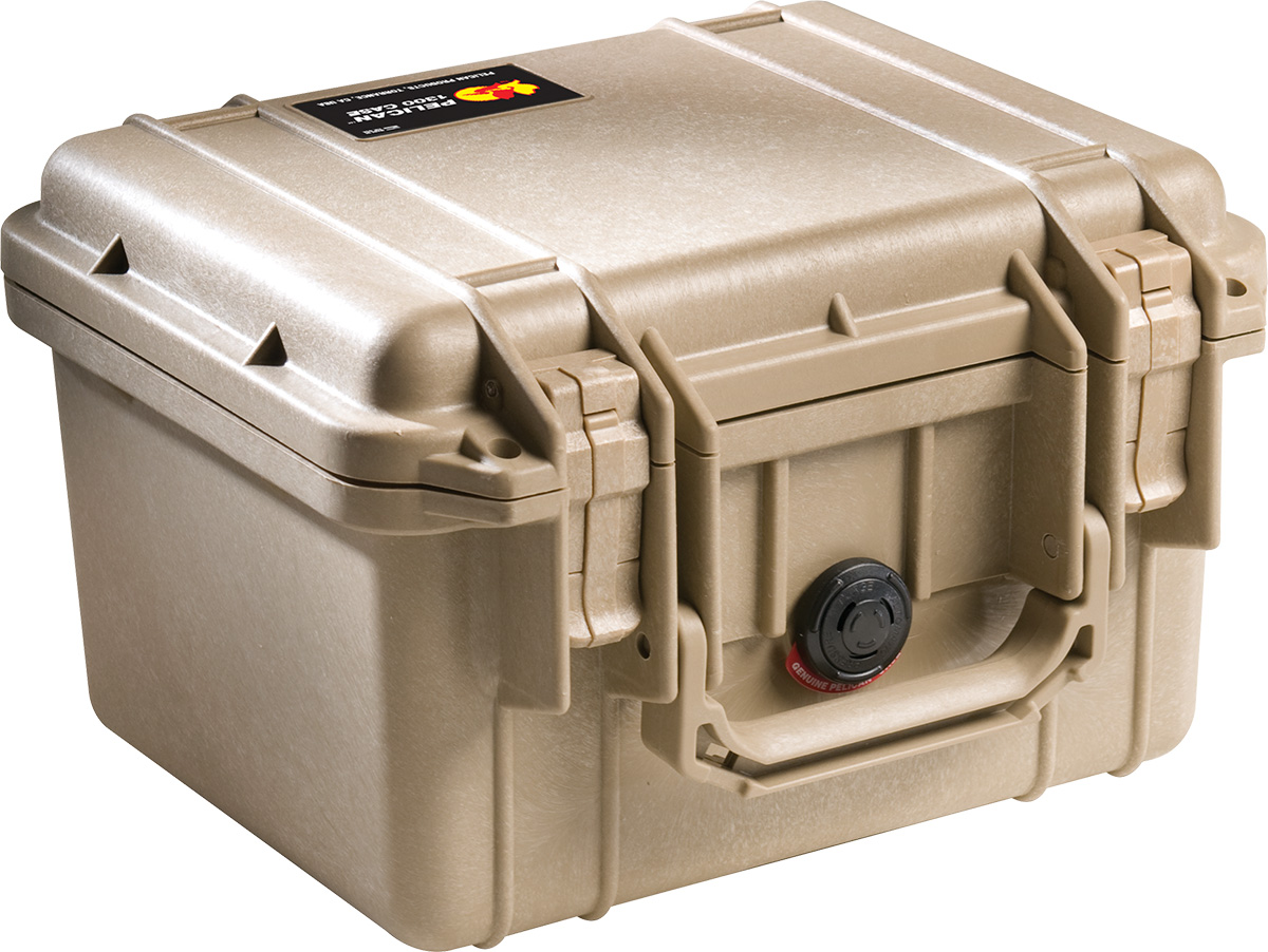 pelican 1300 desert tan protection case