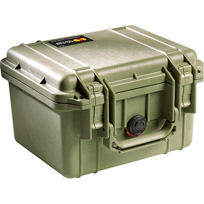 pelican 1300 green camera case