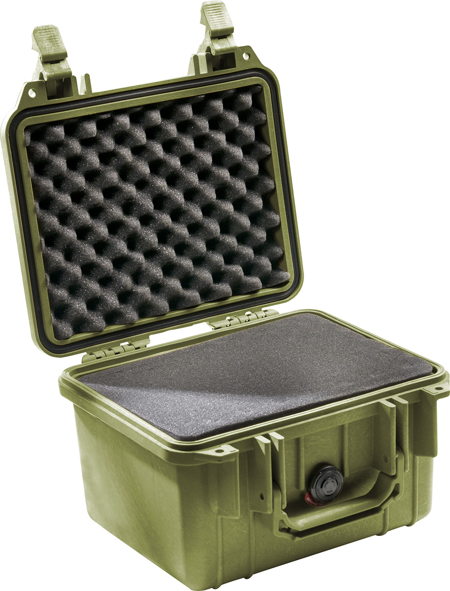 pelican 1300 green tough hard case