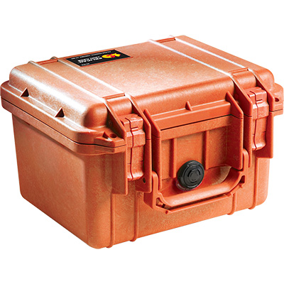 pelican 1300 orange rugged case