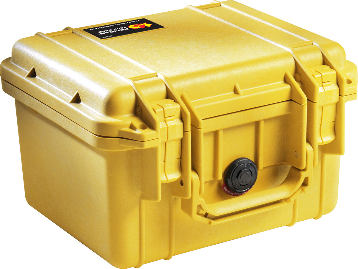 pelican 1300 yellow protector case