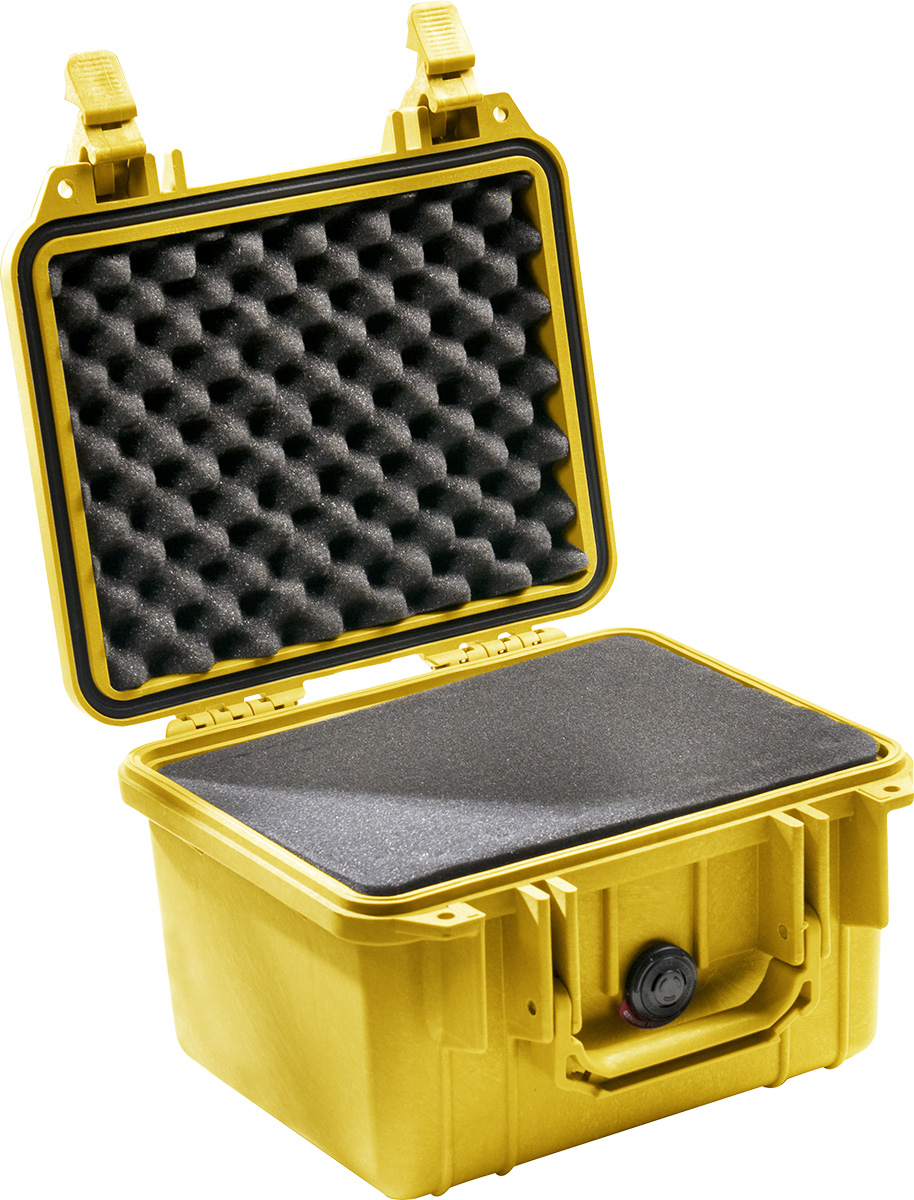 pelican 1300 yellow protector hard case