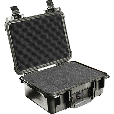 pelican 1400 black protector survival case