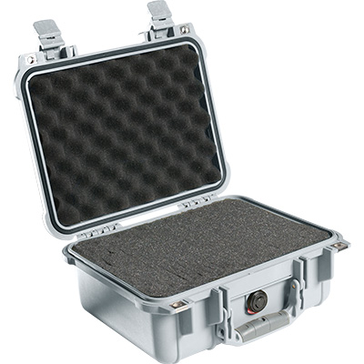 pelican 1400 silver protector rugged case