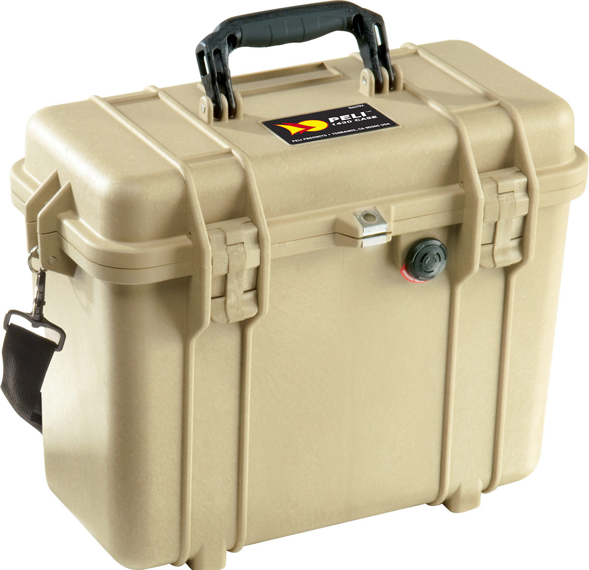 peli 1430 desert tan top loader case
