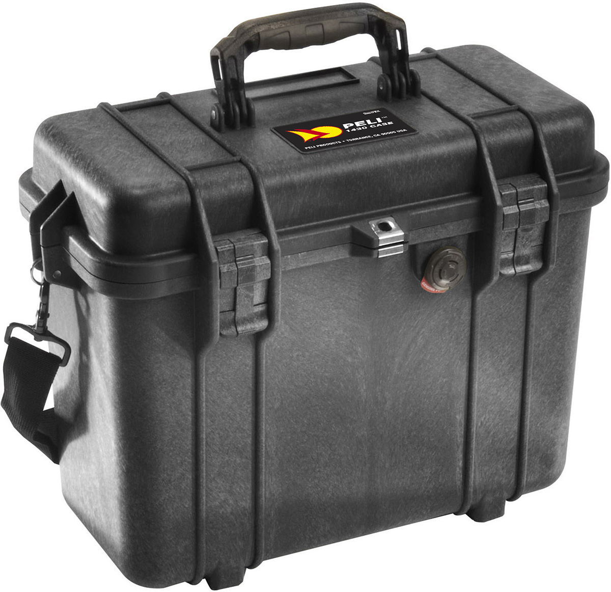 peli pelican products 1430 motorcycle top loaing hard case