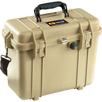 pelican 1430 desert tan top loader case