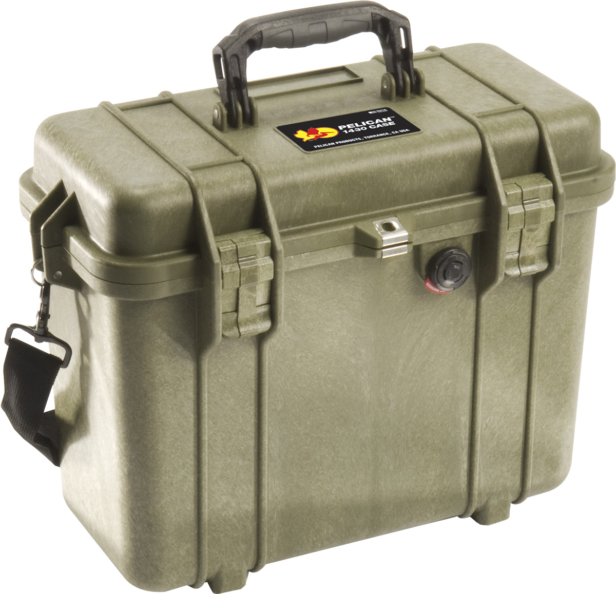 pelican 1430 protector case green top