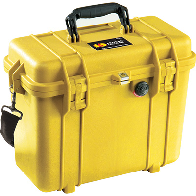 pelican 1430 top loader case yellow