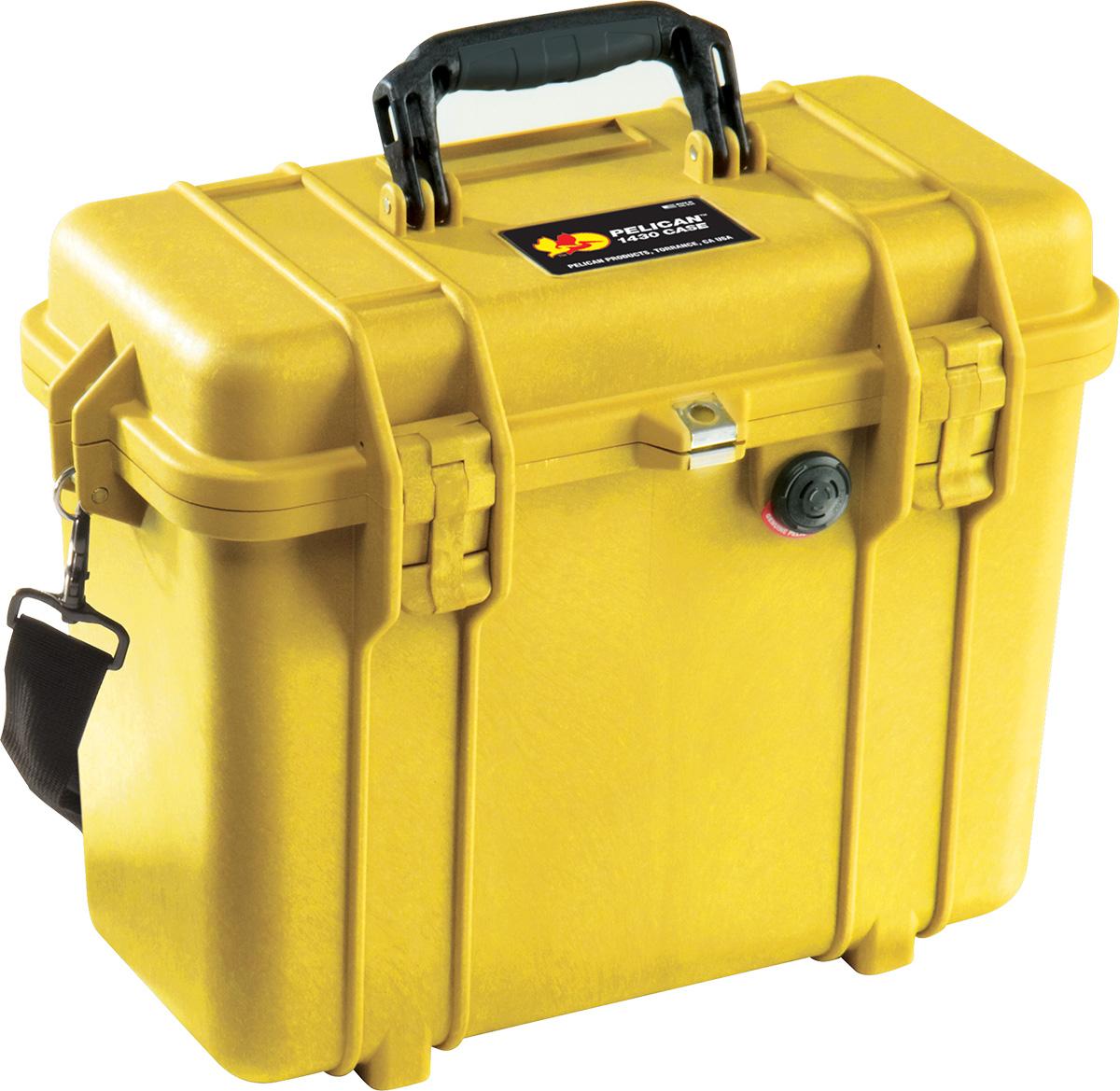 pelican 1430 top loader case yellow