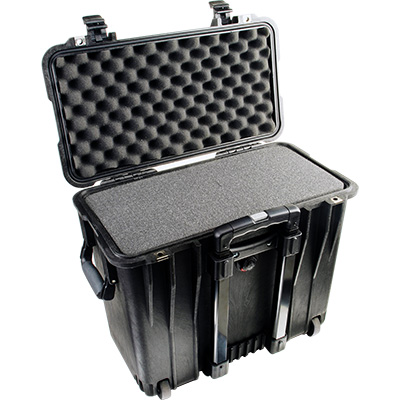 pelican 1440 black top loader foam case